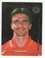 Collectible Soccer Player Image (13x10cm) * Nº81 * S. L. Benfica * Kandaurov - Other