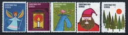 Bermuda  Christmas Charity Labels From 1969 In Mounted Mint Condition. - Cinderellas
