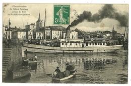 LES SABLES D'OLONNE La Ville De Paimboeuf Sortant Du Port - Sables D'Olonne