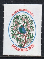 Bermuda  Single Christmas Charity Label From 1978 In Mounted Mint Condition. - Cinderellas