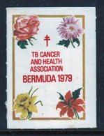 Bermuda  Single Christmas Charity Label From 1979 In Mounted Mint Condition. - Cinderellas