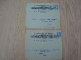 LOT DE 2 ENVELOPPES ETIENNE CLAMAGIRAND & GAILLIARD PARIS - Marcophilie (Lettres)