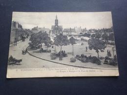 MONTOIRE - L`EGLISE SAINT LAURENT - 1917 - Montoire-sur-le-Loir