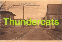 CPA CAMP D'ELSENBORN KAMP CASERNES ET ECURIES KAZERNEN EN PAARDENSTALLEN - Elsenborn (camp)