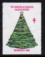 Bermuda  Single Christmas Charity Label From 1983 In Unused Condition. - Cinderellas
