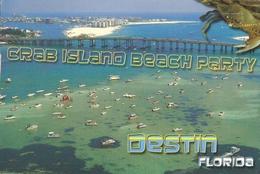 CP Etats-Unis FL - Crab Island, Destin - Cachet Pensacola, Florida - Pensacola