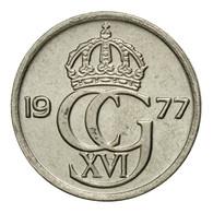 Monnaie, Suède, Carl XVI Gustaf, 10 Öre, 1977, TTB, Copper-nickel, KM:850 - Suède
