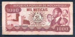 514-Mozambique Billet De 1000 Meticais 1986 AB745 - Mozambique