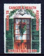 Bermuda  Single Christmas Charity Label From 1996 In Unused Condition. - Cinderellas