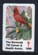 Bermuda  Single Christmas Charity Label From 1999 In Unused Condition. - Cinderellas