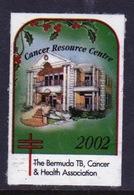 Bermuda  Single Christmas Charity Label From 2002 In Unused Condition. - Cinderellas