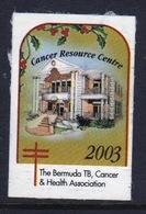 Bermuda  Single Christmas Charity Label From 2003 In Unused Condition. - Cinderellas