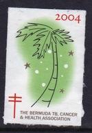 Bermuda  Single Christmas Charity Label From 2004 In Unused Condition. - Cinderellas