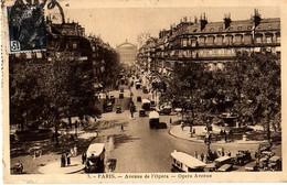 PARIS - AVENUE DE L'OPÉRA - Arrondissement: 01