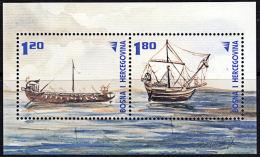 A5337 BOSNIA & HERZEGOVINA 2002, SG MS712  Roman Ships,  MNH - Bosnia And Herzegovina