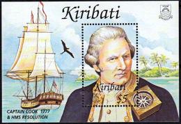 B0047 KIRIBATI 2002, MS657  Captain Cook,  MNH - Kiribati (1979-...)