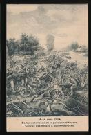 SORTIE VICTORIEUSE D/L GARNISON D'ANVER - CHARGE DES BELGES A BOORTMEERBEEK - Oorlog 1914-18