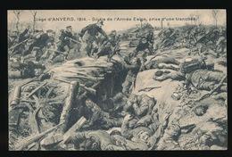 SIEGE D'ANVERS - SORTIE DE L'ARMEE BELGE , PRISE D'UNE TRANCHEE - Oorlog 1914-18