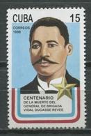Cuba 1998 / Vidal Ducasse Revee MNH / Cu9118  C3 - Cuba