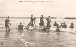 SAINT TROJAN Les BAINS -  Baignade - Côte Sauvage - En Face Le Pertuis De Maumusson - Ile D'Oléron