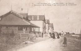 SAINT TROJAN Les BAINS -  Boulevard De La Petite Plage - Chalet - Villas - Ile D'Oléron