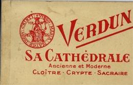 55 VERDUN - Album Carnet De 20 Cartes Postales - Vues Détachables - CATHÉDRALE Ancienne Et Moderne - Verdun