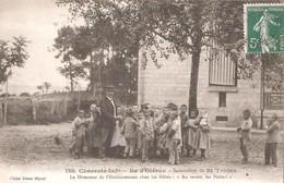 SAINT TROJAN Les BAINS -  Le Sanatorium - Le Directeur De L'Etablissement Chez Les Bébés - Ile D'Oléron