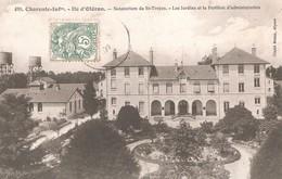 SAINT TROJAN Les BAINS -  Le Sanatorium - Les Jardins Et Le Pavillon D'administration - Ile D'Oléron
