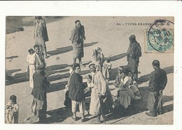 ALGERIE TYPES ARABES GROUPE - Algeria