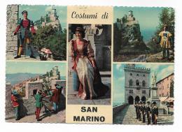 SAN MARINO - COSTUMI -   VIAGGIATA FG - San Marino