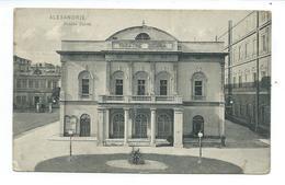 EGYPTE... ALEXANDRIE. Théâtre Zizinia - Alexandria