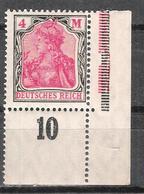 Reich Variété Du N° 131 Neuf ** Coin De Feuille - Ungebraucht