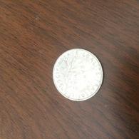 FRANCIA FRANCE 1 FRANCO 1966 - Monete
