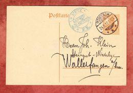 P 110 Germania, Rombach Nach Wallerfangen, Zensur Metz 1917 (55389) - Deutschland