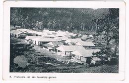 ASIA-1372   HOLLANDIA : Van Een Heuveltop Bekeken - Papua New Guinea