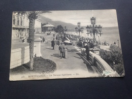 MONTE CARLO - LES RERRASSES SUPERIEURES - FELDPOST - 1918 - Ohne Zuordnung