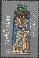 NORFOLK ISLAND 1983 Christmas. 150th Birth Anniv Of Sir Edward Burne-Jones - 5c St. Matthew MH - Norfolkinsel