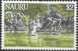 NAURU 1984 Life In Nauru - $2 - Anabar Lagoon MH - Nauru