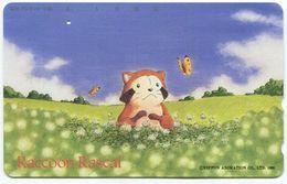 1961 - Raccoon Rascal Manga Anime - Japan Telefonkarte - Comics