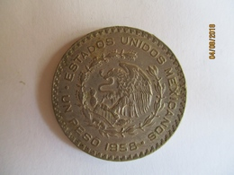 Mexico: 1 Peso 1958 (silver) - Mexico