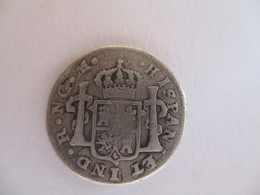 Mexico: 1/2 Reale 1796 - Mexico