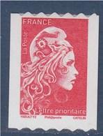 = Marianne L'Engagée 2018 Roulette N°1602 TVP Lettre Prioritaire Numéro Au Verso De 288 Neuf Adhésif - 2018-... Marianne L'Engagée