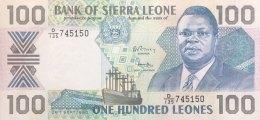 Sierra Leone 100 Leones, P-18c (26.9.1990) - UNC - Sierra Leone