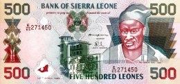 Sierra Leone 500 Leones, P-23a (27.5.1995) - UNC - Sierra Leone