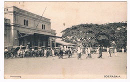 ASIA-1386  SOERABAIA : Stationsweg - Indonesia