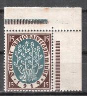 Reich N° 107 Neuf ** Coin De Feuille - Allemagne