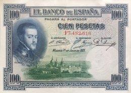 Spain 100 Pesetas, P-69c (1.7.1925) - EF/XF - [ 1] …-1931: Erste Ausgaben (Banco De España)