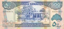 Somaliland 500 Shilin, P-6a (1994) - AU - Somalie