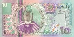 Suriname 10 Gulden, P-147 (1.1.2000) - UNC - Suriname