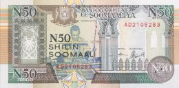 Somalia 50 N. Shilin, P-R2 (1991) - UNC - Somalie